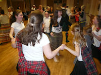Scottish Country Dancing for Children