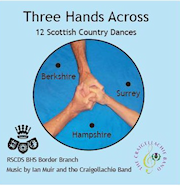 Three Hands Across CD